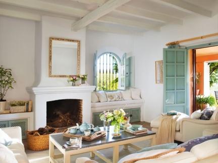 田园客厅室内家具装修设计