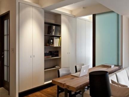 宁静舒适日式风格餐厅白色吊顶设计图