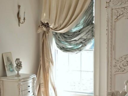温馨欧式卧室白色装饰柜装修设计
