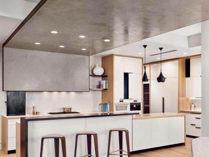 优雅高档厨房吊顶效果图