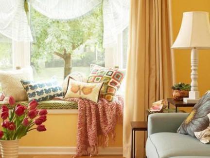 乡村美式客厅榻榻米装修设计