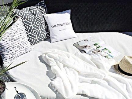 现代简约风格卧室白色榻榻米装修效果图