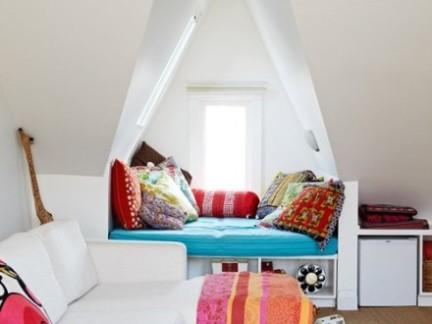美式小型阁楼家具装修设计