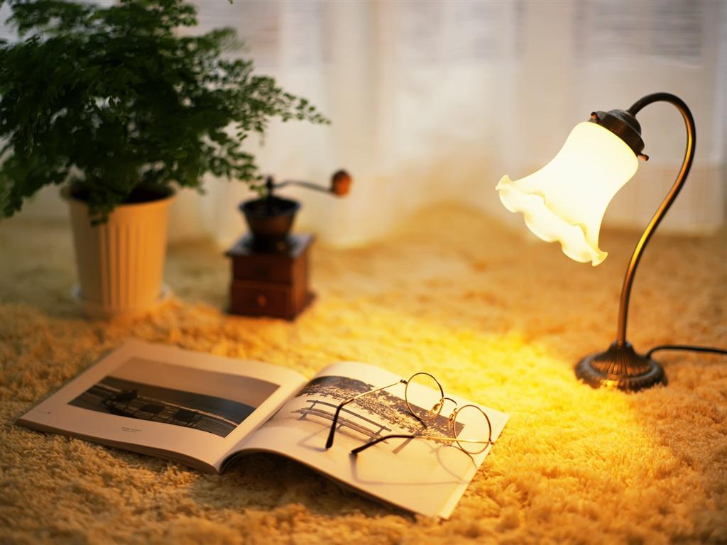 欧式书房专用小台灯创造原生态阅读环境