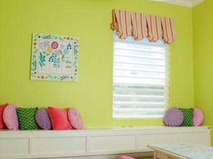 彩色儿童房装饰效果图欣赏