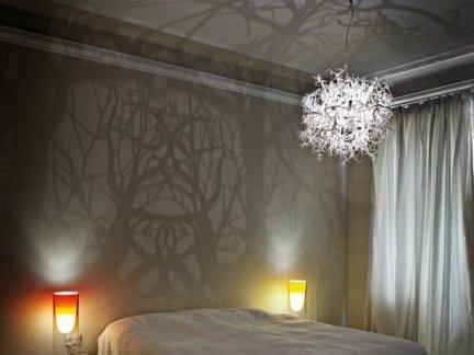 大型卧室梦幻灯具装饰图片欣赏
