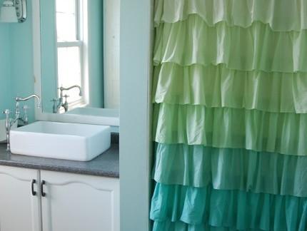 宜家美式卫生间白色洗手台装修设计