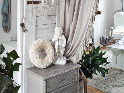 中式风格客厅灰色窗帘图片集锦