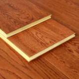 贝尔地板 多层实木复合木地 板家用地暖 铁掌红橡15mm 1平方图片