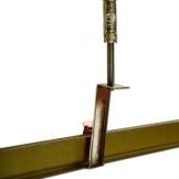 格勒(geler)集成吊顶铝扣板主副龙骨边线挂钩膨胀螺丝吊杆全套配件辅料 2.5米烤漆型