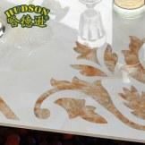 哈德逊瓷砖 客厅地砖搭配拼花地面砖全抛釉地板砖 凤凰来仪 800*800