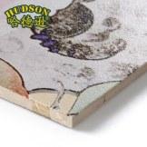 哈德逊 欧式客厅瓷砖背景墙雕刻大理石电视背景墙花开富贵装饰背景墙瓷砖 平面+幻彩/0.1平方米