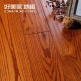 好美家 红栎爆款6651 实木仿古地板 厂家直销