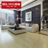 贝尔地板 强化复合地板 12mm负离子苹果 橡木卧室客厅地板PG004