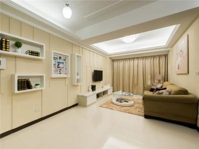宜家风格-106平米三居室装修样板间