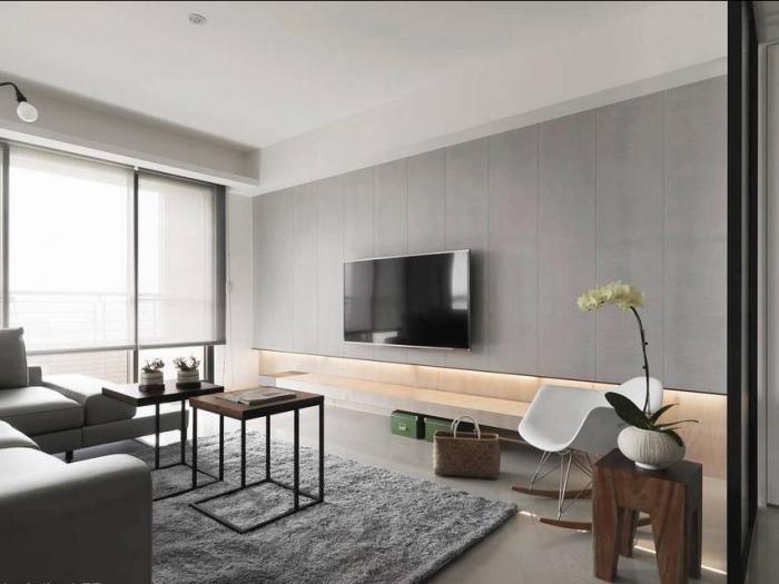 现代简约-138平米四居室-装修样板间