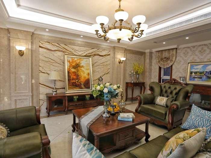 新古典风格-250平米别墅-装修样板间