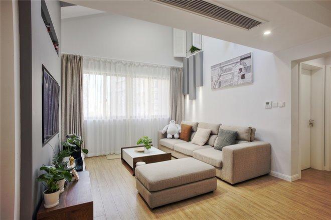 现代简约-45平米二居室-装修样板间
