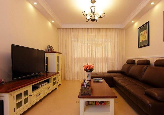 田园风格-103平米三居室-装修样板间