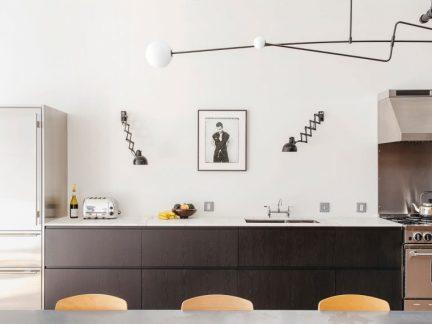 时尚简约风格厨房背景墙设计效果图