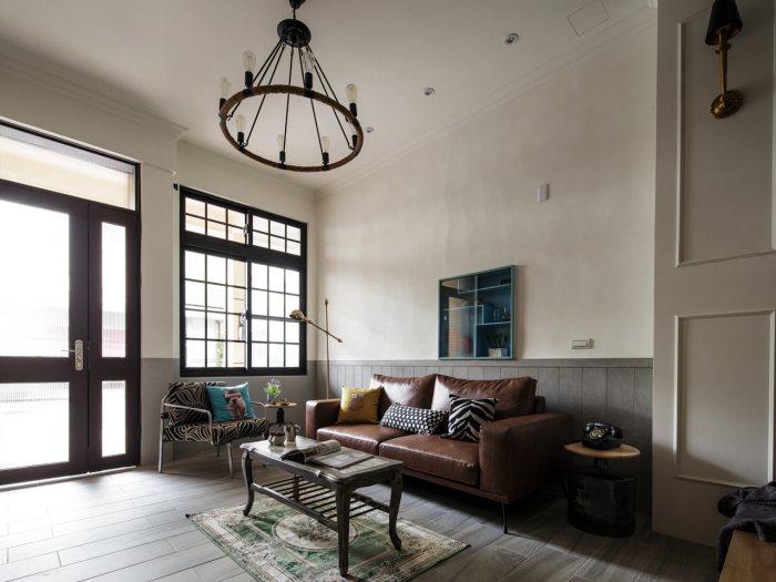 混搭风格-70平米二居室-装修样板间