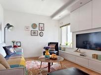 田园风格-0平米三居室-装修样板间