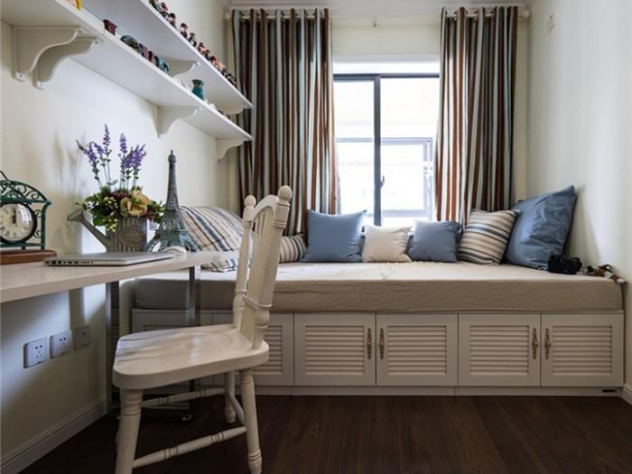 地中海风格-110平米三居室-装修样板间