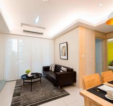 湖山新意-二居室-99平米-装修设计