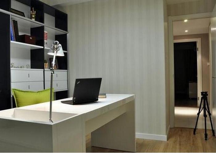 现代简约-103.17平米三居室-装修样板间