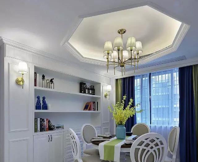 欧美风情-110平米三居室-装修样板间