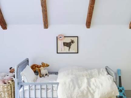 简洁北欧风格可爱儿童房装修效果图