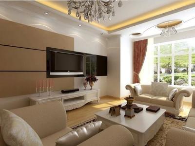 现代简约-1平米三居室装修样板间