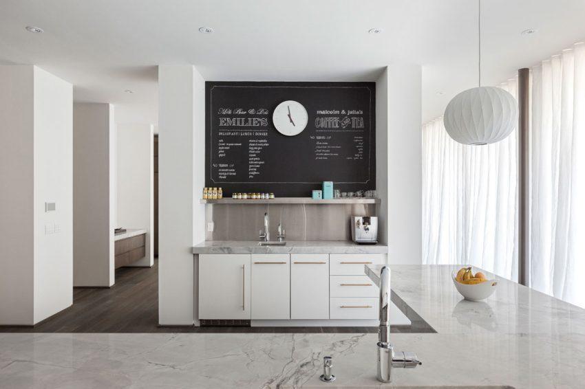 文艺北欧风格厨房温馨黑板墙设计图-房天下装修效果图