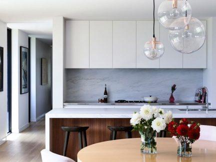 精致现代风格小户型厨房装修效果图