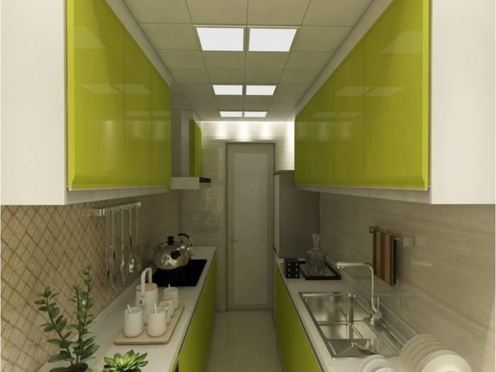 现代简约-132平米四居室-装修样板间