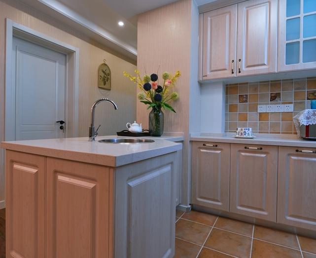 简美风格-108平米三居室-装修样板间