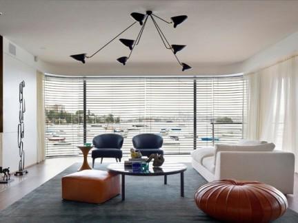 简约风格活泼清新公寓客厅装修效果图