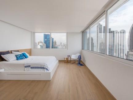 极致简约风格原木色卧室装修设计