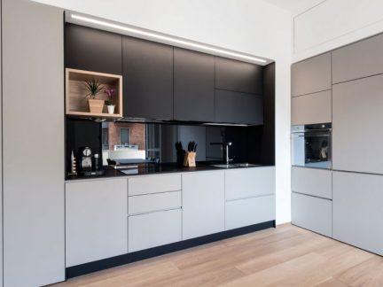 洁净时尚现代风格厨房橱柜设计图片