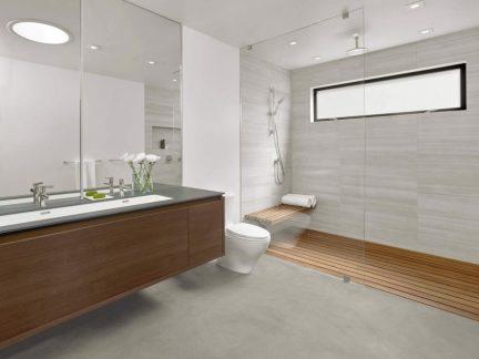 清爽明亮简约风格卫生间洗手台效果图