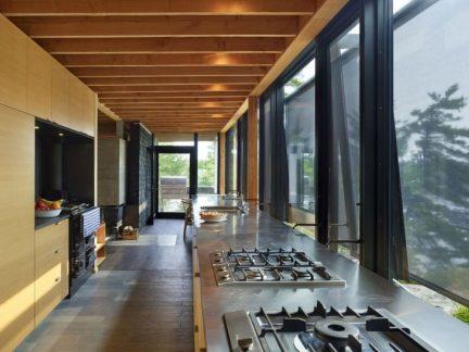 现代风格大气别墅实用厨房装修图片