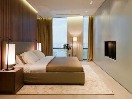 现代简约风格时尚优雅卧室装修图片