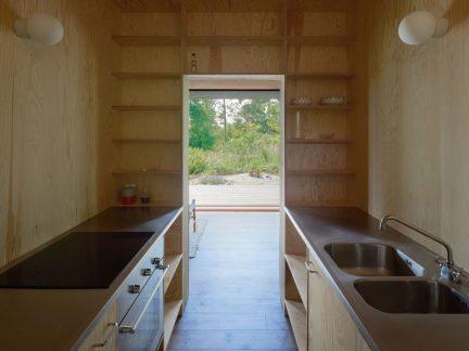 简约风格质朴实用原木色厨房装修图片