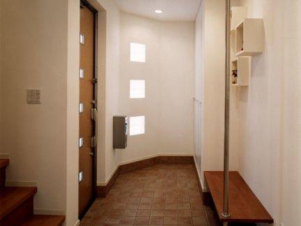 简单实用现代风格玄关装修设计图