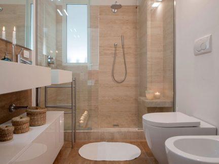 明净利落简约风格卫生间淋浴间效果图