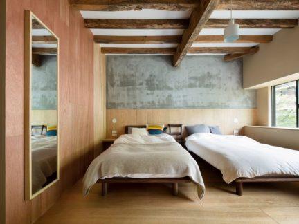 朴素雅致现代风格卧室装修效果图