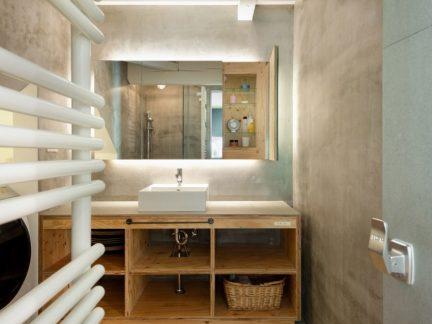 简约风格卫生间实用洗手台设计图片