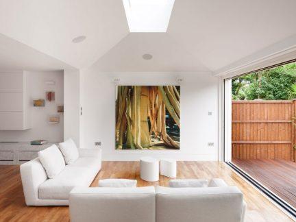 自然慵懒简约风格客厅沙发图片欣赏