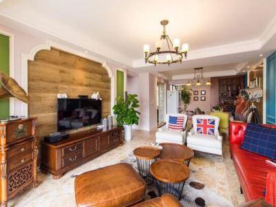欧美风情-165平米三居室装修样板间