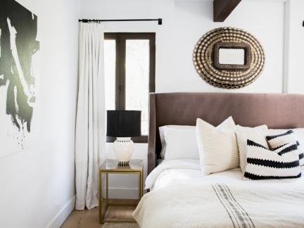 精致新古典风格卧室装修效果图